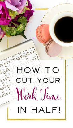 LOVE this post! Finally some realistic time management advice, and I can see how if I practiced this for a month, I could drastically cut down on my work time. How To Drastically Declutter How To Start A Blog, How To Make Money, Time Management Skills, Productivity Hacks, Work From Home Moms, Blogging For Beginners, Working Moms, Business Tips, Online Business