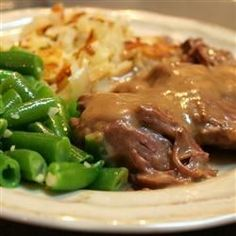 """Awesome Slow Cooker Pot Roast   """"I have made this many times for my family. It is easy and always turns out good."""""""