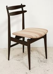 Set of 6 Italian Teak Dining Chairs attributed to Vittorio Dassi $4200