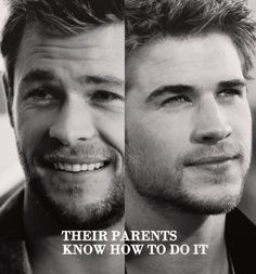 """Hemsworth Brothers"""" Chris and Liam"""