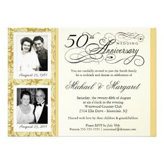 See MoreFancy 50th Anniversary Invitations - Your Photosso please read the important details before your purchasing anyway here is the best buy