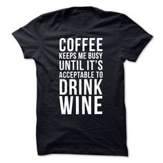 (New T-Shirts) COFFEE WINE - Gross sales...