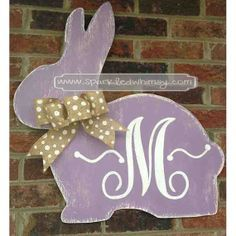 rabbit door decorations - Google Search