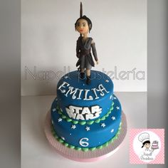 Napell Pasteleria: Torta Rey de Stars Wars