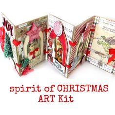 The first 25 orders for the Spirit of Christmas Kit will receive a Christmas Trinket Box. The Trinket Box is filled to the brim with all things Christmas that you can add to your Mantelpiece or save for other Christmas Projects. Save 20% today thru Tuesday Sept. 26, 2017 at Noon CST. Kits will begin shipping on Friday Sept. 29, 2017. No International Shipping on this Kit. Note: Orders that include this item will be held and shipped together. If you would like your stock items to ship now…