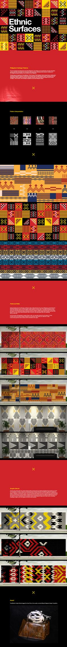 Ethnic Surfaces on Behance Event Branding, Branding Design, Ethnic Patterns, Print Patterns, African Logo, Filipino Art, Ethnic Design, Minimal Design, Graphic Design Illustration