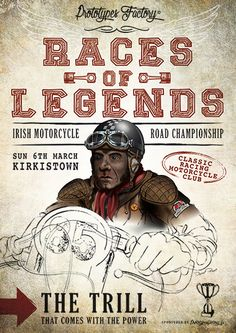POSTER RACES OF LEGENDS