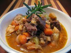 Beef stew: clean, paleo friendly.