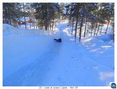 Colonie de vacances Laponie - Hiver 2013. #laponie #finlande  #cei #neige #luge