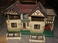 Derelict vintage doll's house in Dolls & Bears, Dolls' Houses | eBay If only I had room for one more house, it looks so sad, I hope someone can give it a good home :(