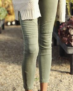 Piper Jegging - Olive