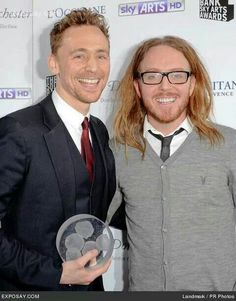 Tom Hiddleston ~ Tim Minchin