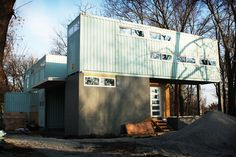 Home : Eleven Amazing Shipping Container Homes  Look! Kansas City's New Cargo Container House | Apartment Therapy