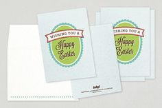 Easter Greeting Card Design from Inkd