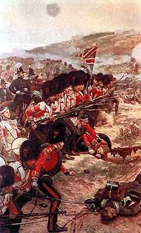 Coldstream Guards storming the heights at the Battle of the Alma 20th Sept 1854