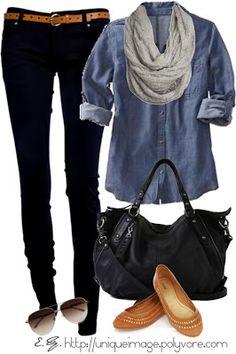 Um estilo casual e mais fresquinho, só para quando estiver mais solzinho :)
