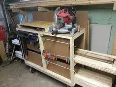 Lumber Storage Cart Tutorial