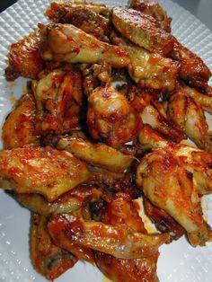 Cocinando dulce y salado: Alitas de pollo al horno tipo burguer king