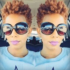 20 Short Natural Haircuts for Black Women: Long Pixie Cut; Natural Tapered Cut, Tapered Natural Hair, Pelo Natural, Natural Curls, Tapered Sides, Short Natural Styles, Short Natural Haircuts, Short Hairstyles For Women, Black Hairstyles