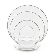 Jasper Conran Wedgewood Platinum China.  Simple and elegant, love it!