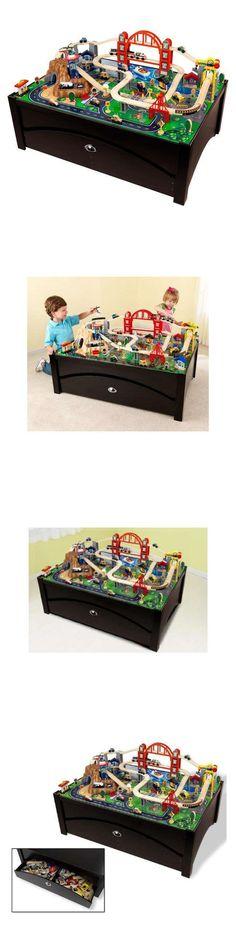 Brio Compatible 16517: Ride Around Town Train Set Table 100 Piece Kid Boy  Girl Child Toy Storage Bins  U003e BUY IT NOW ONLY: $179.54 On EBay!
