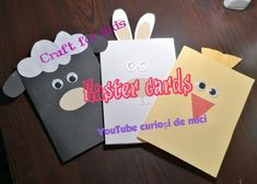 Craft-felicitare pentru Paste/easter craft for kids Oita, Easter Crafts For Kids, Homemade, Make It Yourself, Cards, Easter Crafts For Toddlers, Home Made, Diy Crafts, Maps