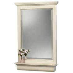 foremost international cottage mirror with shelf home depot canada 134 - Erias Home Designs