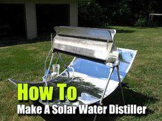 How To Make A Solar Water Distiller - SHTF Preparedness