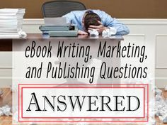 Answers to the big question on writing, marketing, and publishing ebooks. Plus a chance to get your big questions answered. Find out more! #AutumnWriting #writingtips #writingcraft