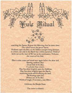 Yule Ritual