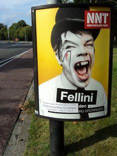 Fellini - Wegens succes nog één keer te zien! 24-8-14 (locatie Diamantlaan - Groningen)