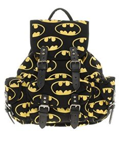 Lazy Oaf   Lazy Oaf Batman Backpack at ASOS