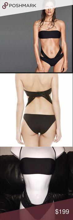 47c24122140cb La Perla Glimmering Soutache 44 8 Small Swimsuit 100% authentic La Perla  swimsuit new with