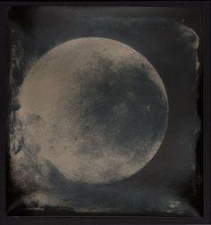 Heliogram July 8, 1876/October 16, 2011 (detail), 2011, Lisa Oppenheim, gelatin…