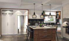 SPACIA a réalisé le réaménagement complet du rez-de-chaussée d'une résidence afin d'apporter plus de lumière tout en conservant l'intimité du lieu.