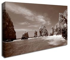 Simply Canvas have a variety of seascape canvas prints. Original wall art from Wall Prints, Canvas Art Prints, Canvas Wall Art, Rock Formations, Ocean, Brown, Outdoor, Products, Outdoors