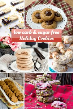 21 Low-Carb and Gluten-Free Holiday Cookies from Parade Magazine.