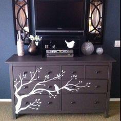 Dresser for nursery idea