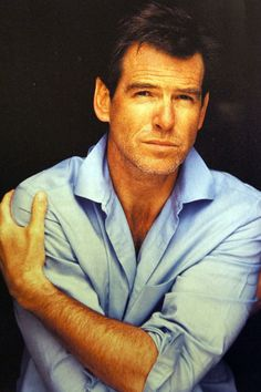 Pierce Brosnan... okay I'm starting to think I have a thing for old men... this guy is ageless though.