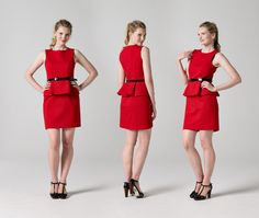 Peplum Dress Sewing Pattern