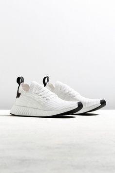 buy online dd0f5 3a795 adidas NMD R2 Core Black Primeknit Sneaker Adidas Nmd R2, Adidas Sneakers,  White Sneakers