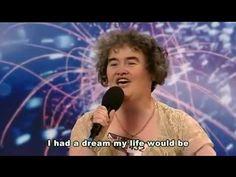 [中文字幕]英國星光大道選秀Susan Boyle唱『I Dreamed a Dream』蘇珊鮑伊驚艷全場 - YouTube