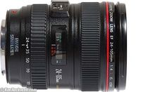 Canon 24-105mm f/4L, distortion table to put in Photoshop for lens correction :)
