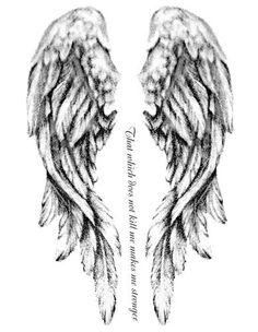 Angel Wings Tattoo Design Ideas