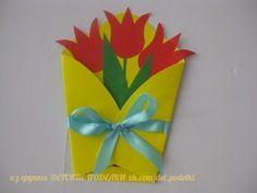 ДЕТСКИЕ ПОДЕЛКИ Bible Crafts For Kids, Mothers Day Crafts For Kids, Mothers Day Cards, Preschool Crafts, Projects For Kids, Diy For Kids, Paper Flowers Craft, Paper Crafts, Handmade Crafts