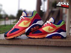 "Nike Air Max 180 ""Viotech"" By Hersh"