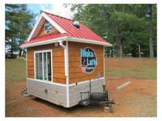 Coffee Huts as Tiny Houses - lots of great pics!