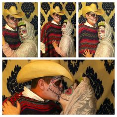 DIY Dia De Los Muertos costume.