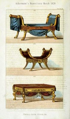 Two Nerdy History Girls: Drawing Room Seating 1828 Regency Furniture, Historical Architecture, Historical Romance, Drawing Room, 18th Century, The Past, Romances, History, Georgian