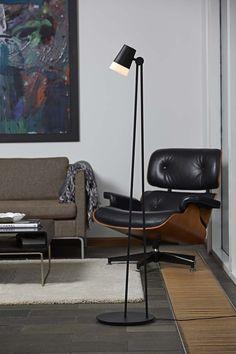 Stehlampe SONATE für Wohnzimmer oder Schlafzimmer - skandinavisch oder modern